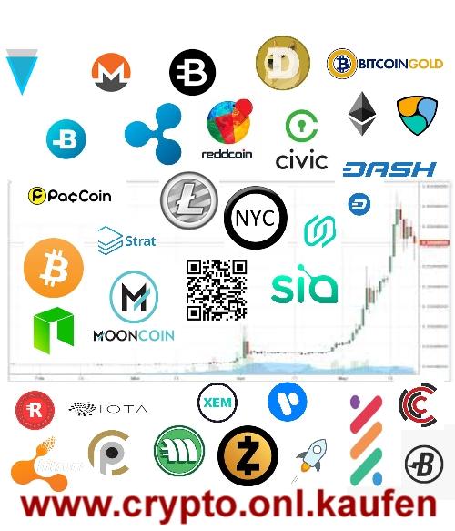 www.crypto.onl.kaufen VERGE Ripple Bitcoin Bytecoin NEO SIA Verkaufen-VERGECOIN-Kaufen