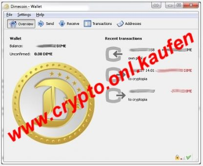 www.crypto.onl.kaufen Dime Coin DimeCoin