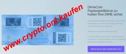 www.crypto.onl.kaufen Dime Coin Kaufen DimeCoin Verkaufen